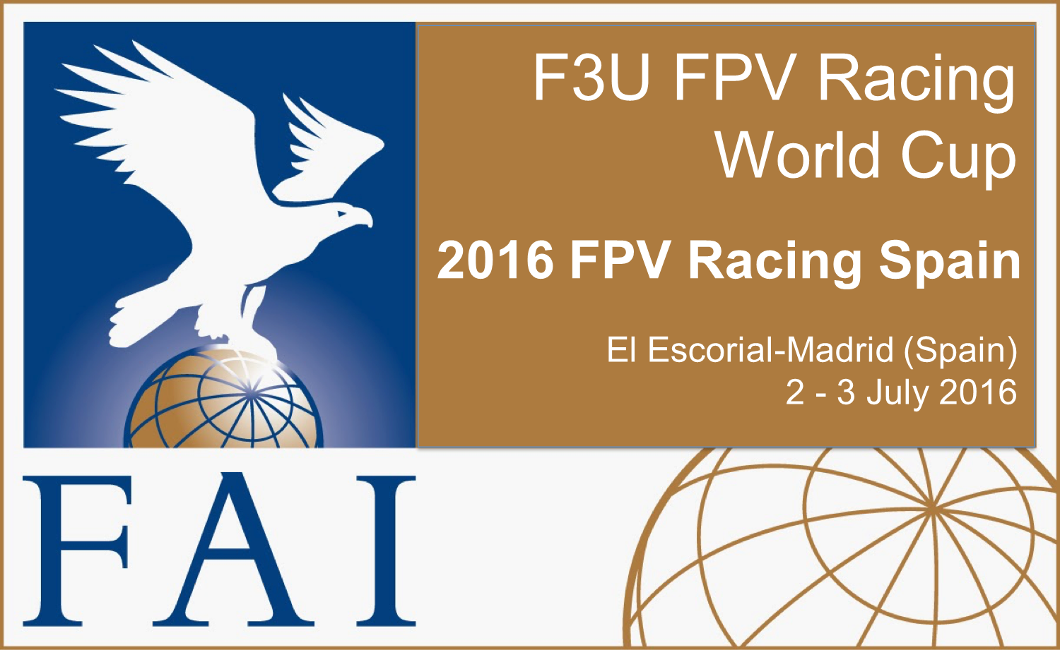 2016 Fpv racing El Escorial